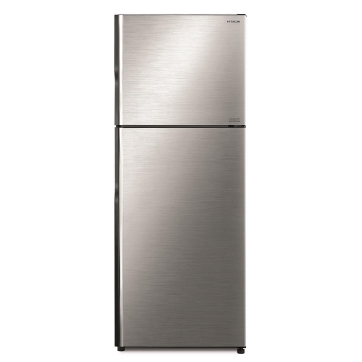 Hitachi Double Doors Refrigerator 15 Cubic Brilliant Silver R-VX400PF BSL