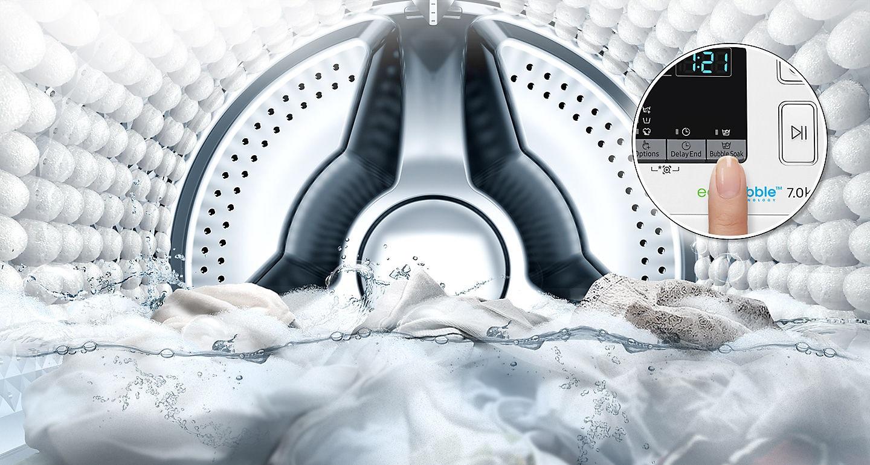 Samsung Front Load Washing Machine 7 KG WW70J42E0IWST