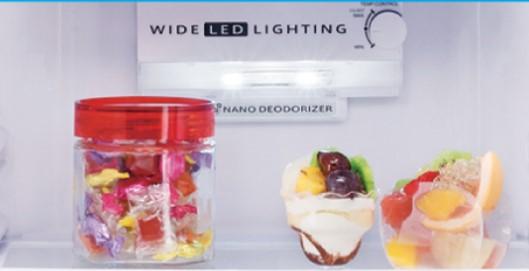 Sharp Wide LED Lighting