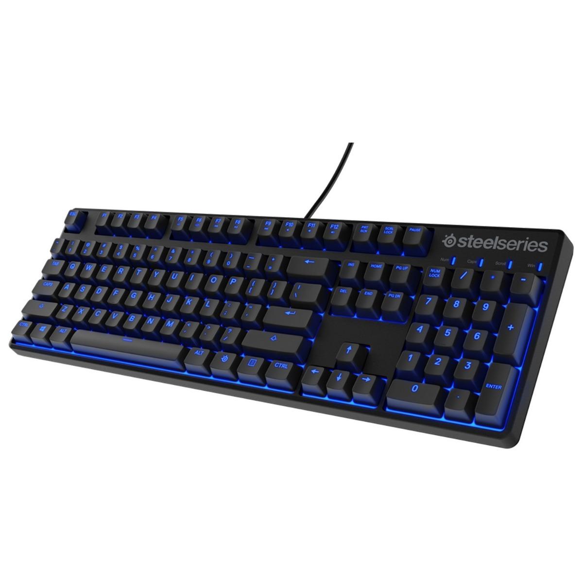 คีย์บอร์ดเกมมิ่ง (สีดำ)  รุ่น Apex M500 - Cherry MX Blue (US)