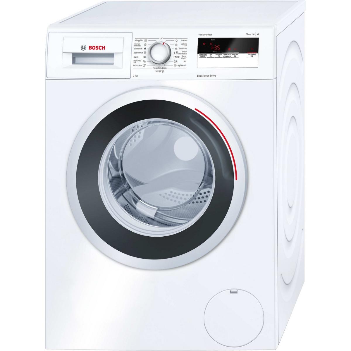 เครื่องซักผ้าฝาหน้า (7 kg) รุ่น WAN24160TH