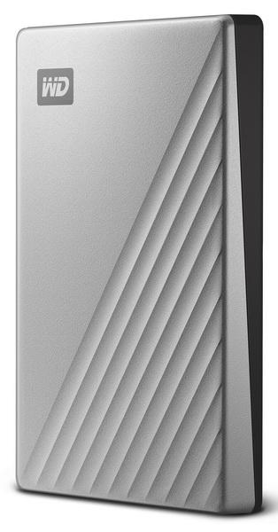 เอ็กซ์เทอนอล ฮาร์ดไดร์ฟ (1 TB, สี Silver) รุ่น MY PASSPORT ULTRA WDBC3C0010BSL-WESN