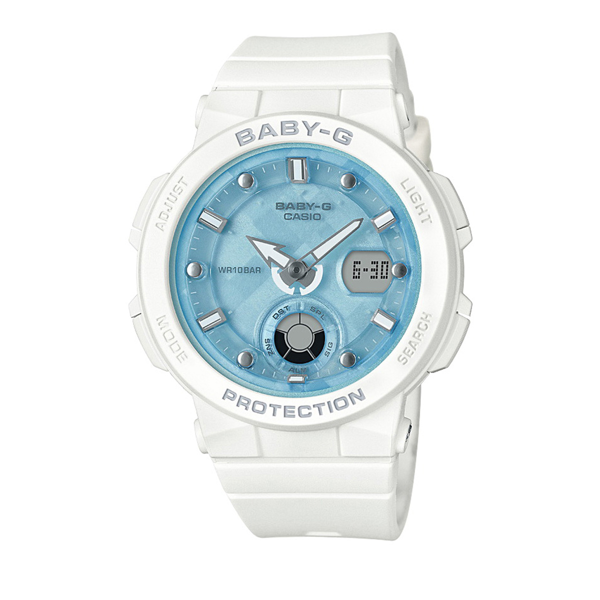 b8c9b8f538 Baby-G Watch (White) BGA-250-7A1DR