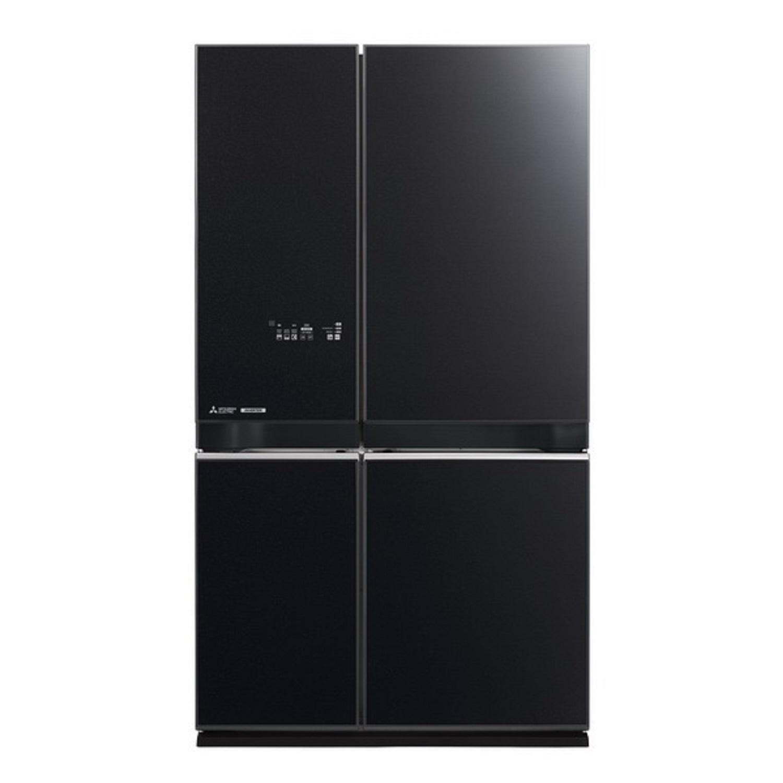 ตู้เย็น 4 ประตู (20.5 คิว, สีดำประกาย) รุ่น MR-L65EP-GBK