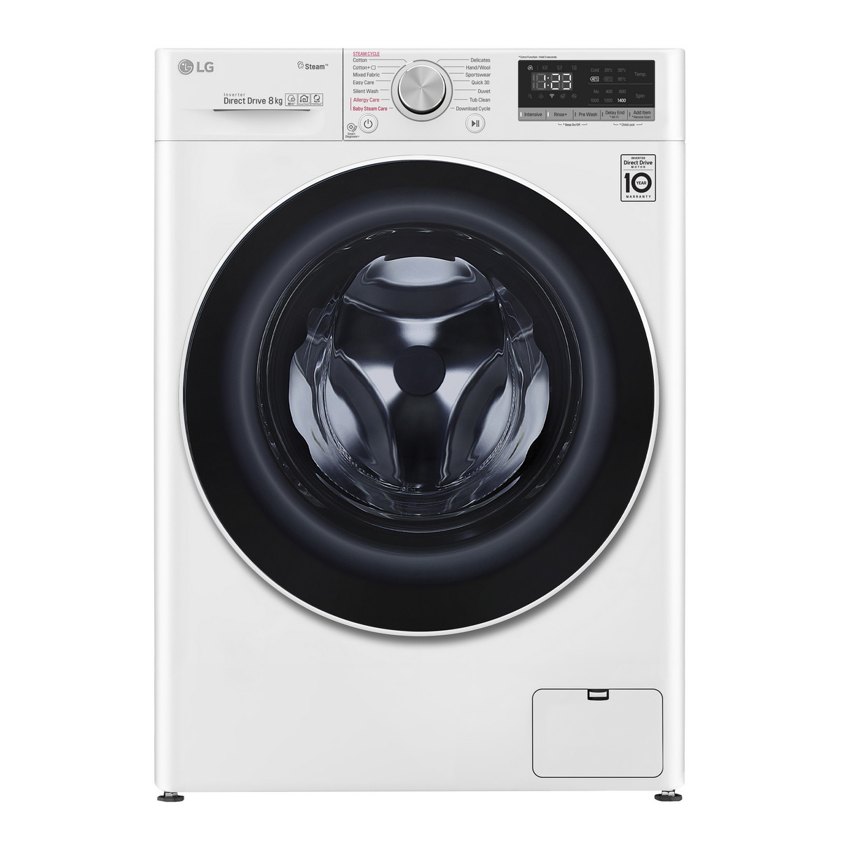 เครื่องซักผ้าฝาหน้า (8 kg) รุ่น FV1408S4W.ABWPETH