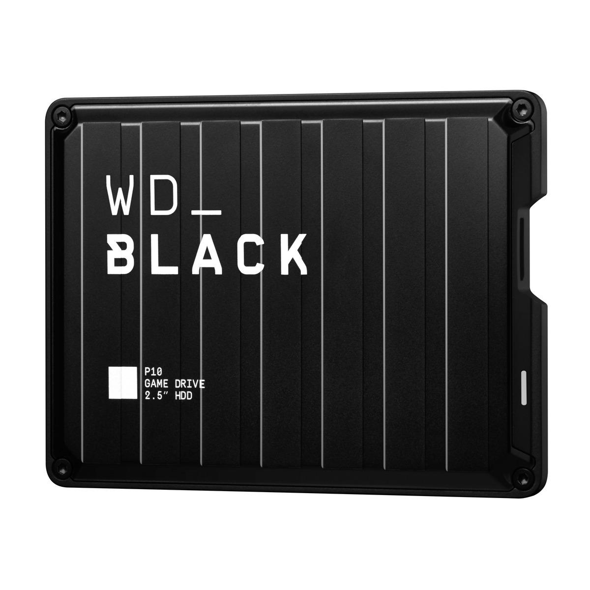 เอ็กซ์เทอนอล ฮาร์ดไดร์ฟ (2 TB) รุ่น WD_BLACK P10 Game Drive
