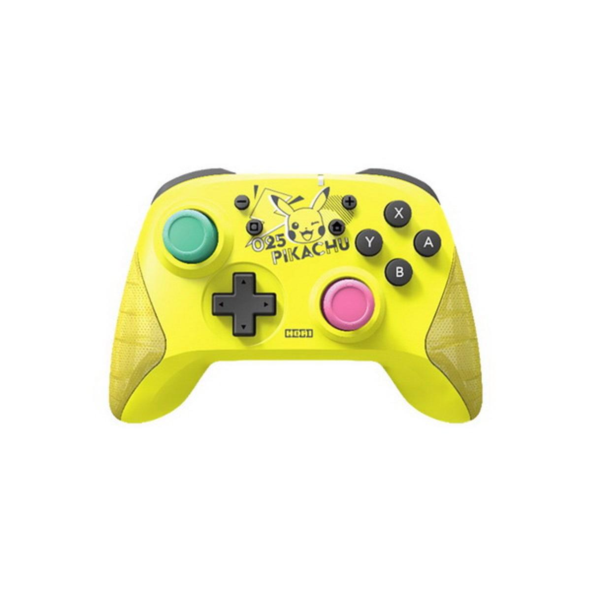 เกมคอนโทรลเลอร์ (สีเหลือง) รุ่น WIRELESS PIKACHU POP
