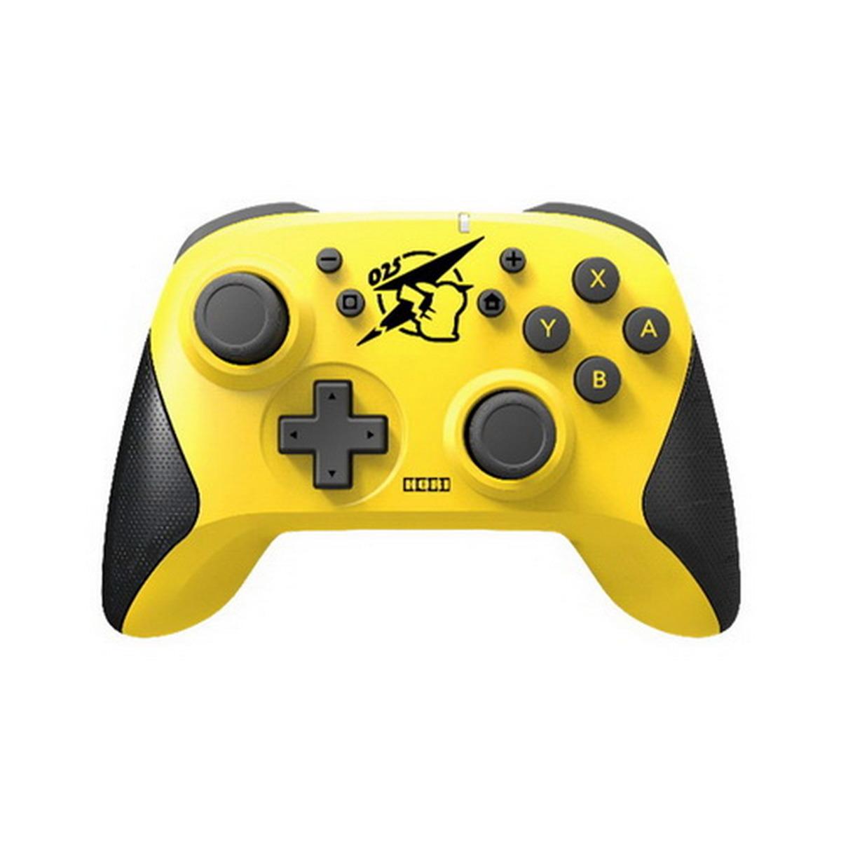 เกมคอนโทรลเลอร์ (สีเหลือง/ดำ) รุ่น WIRELESS PIKACHU COOL