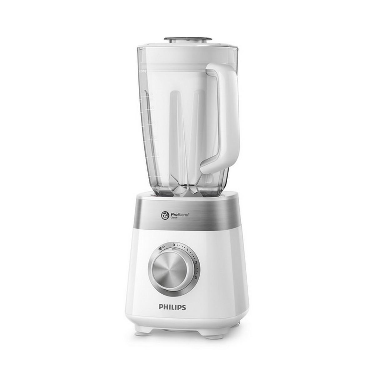 PHILIPS Blender (800 W, 2 L, White) HR2225/00