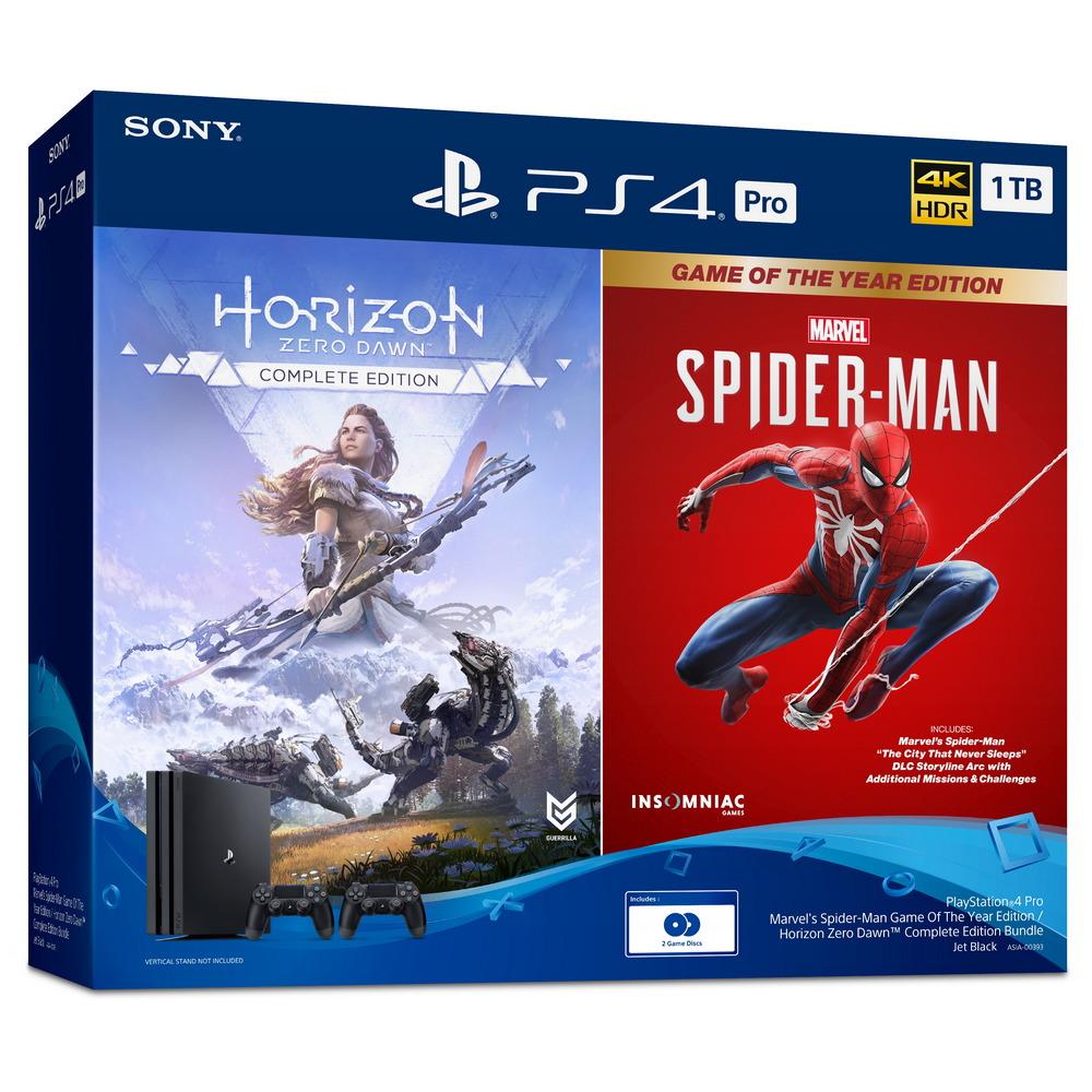 เครื่องเกมคอนโซล PS4 Pro Bundle (1TB) รุ่น ASIA-00393
