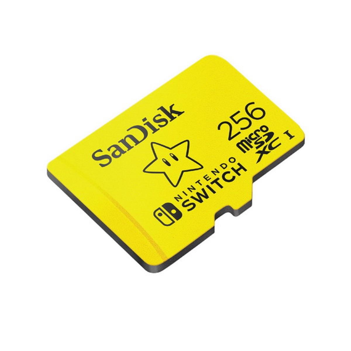 เมมโมรี่การ์ดสำหรับ Nintendo Switch (256 GB)