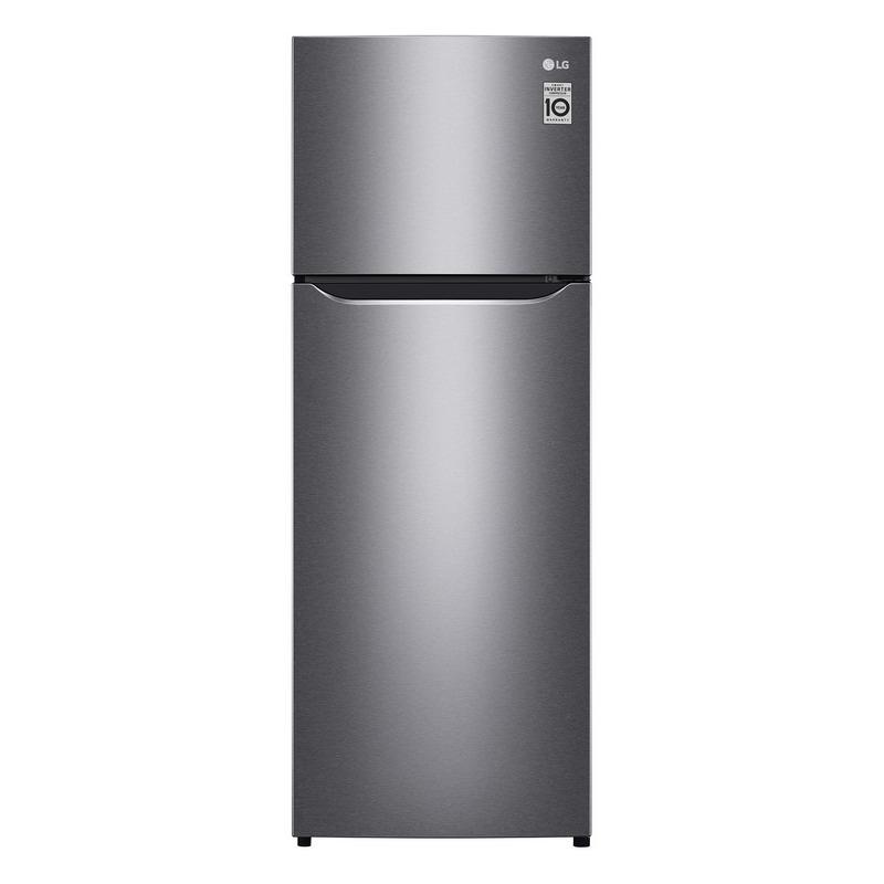 LG Double Doors Refrigerator (7.4 Cubic ,Grey) GN-B222SQBB.ADSPLMT