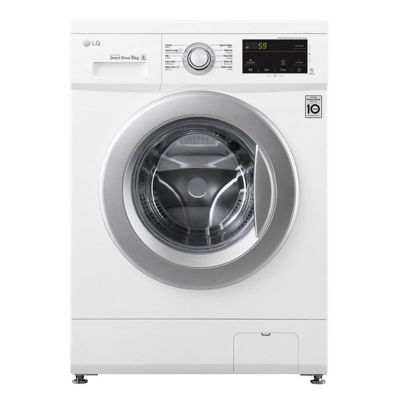 LG Front Load  Washing Machine  9 kg FM1209N6WABWPETH