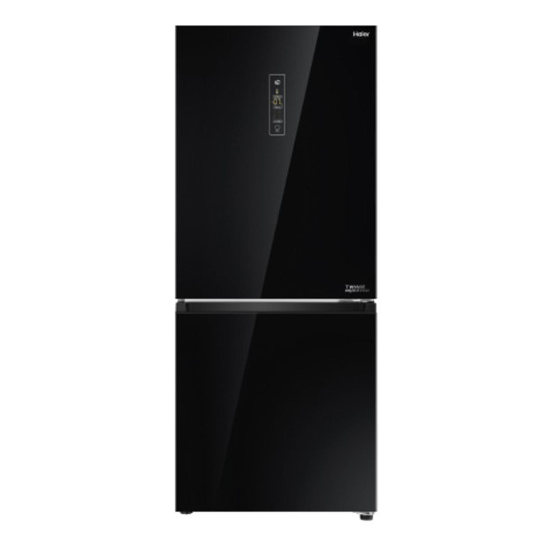ตู้เย็น 2 ประตู (9.2 คิว, สี Glass Black) รุ่น HRF-BM255GI