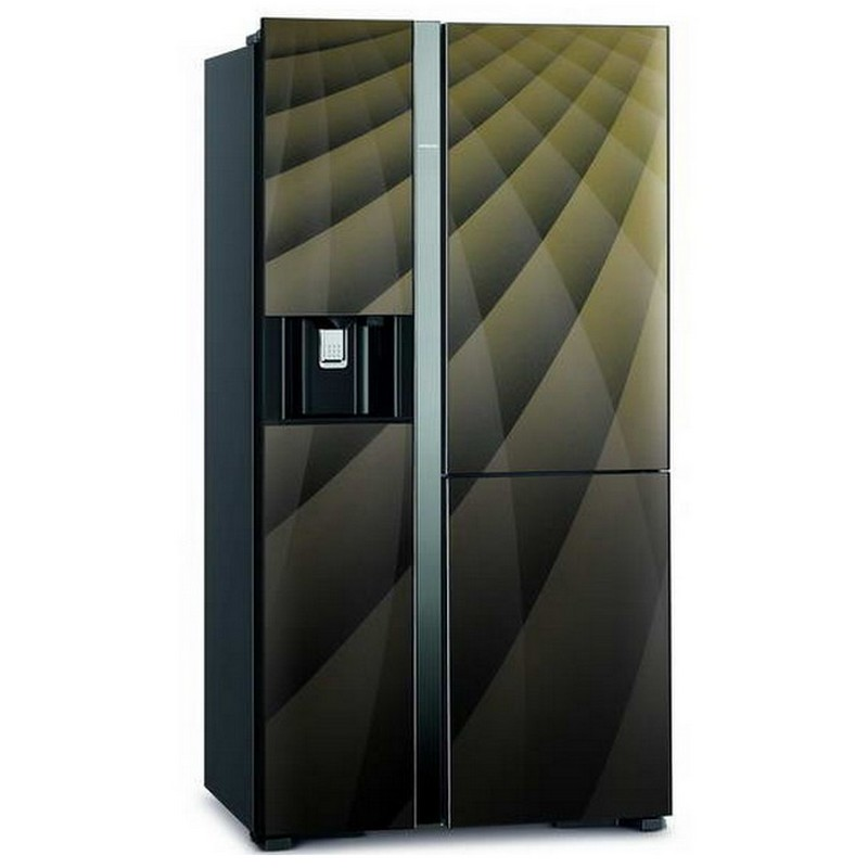 Hitachi Side by Side Refrigerator (21.1 Cubic, DIAMOND) R-M600AGP4THX