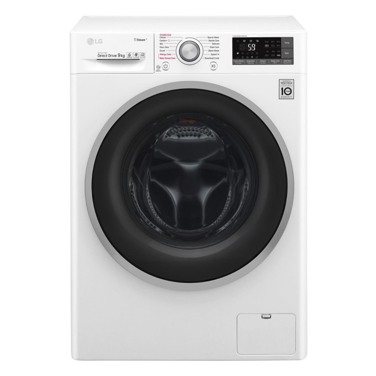 เครื่องซักผ้าฝาหน้า (9 kg) รุ่น TWC1409S3W.ABWPGST