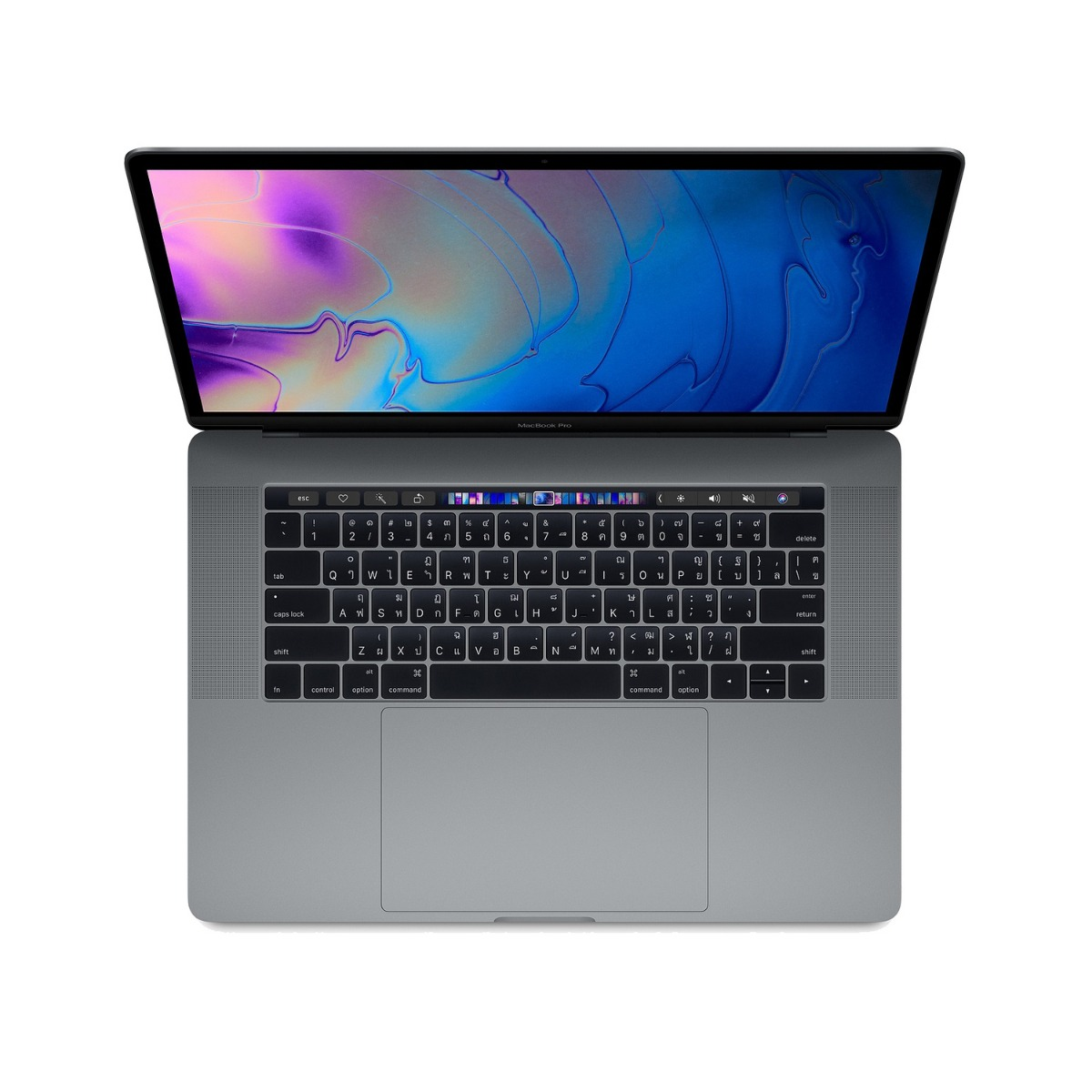 """Macbook Pro with Touch Bar 2018 (15.6"""", RAM 16GB, 256GB, Space Grey)"""