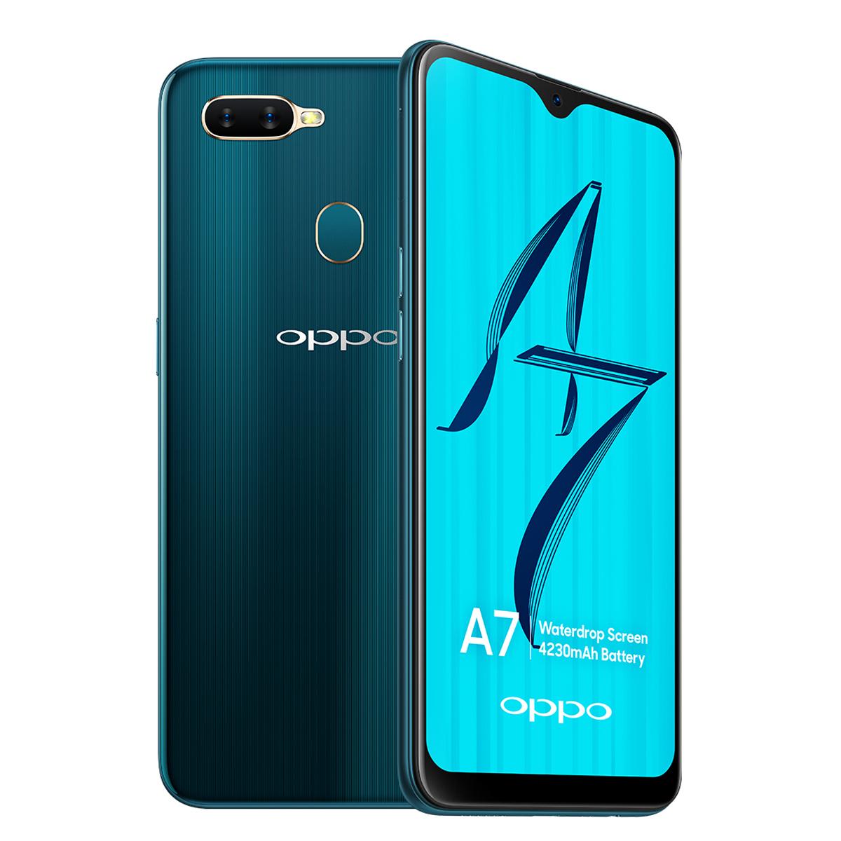 Luxury design smartphone Oppo A7