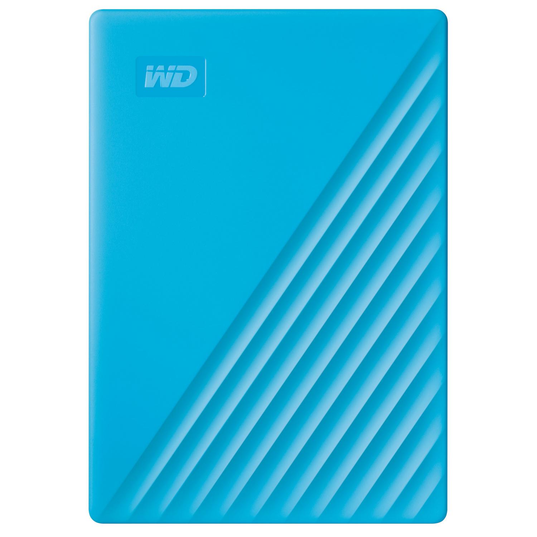 เอ็กซ์เทอนอล ฮาร์ดไดร์ฟ (5TB, สีฟ้า) รุ่น My Passport