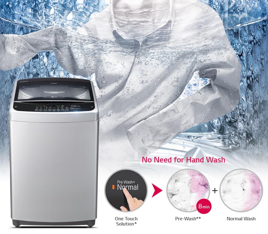 LG เครื่องซักผ้าฝายน TurboDrum™